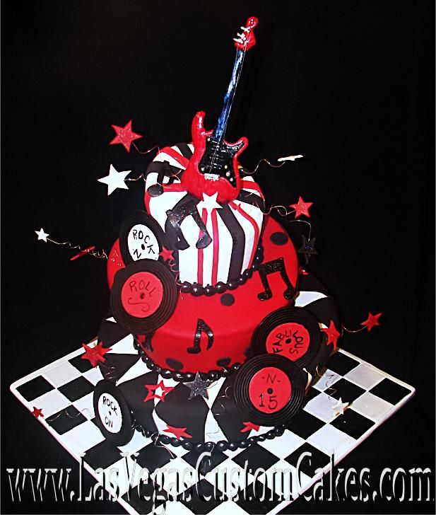 cupcake wedding cake pictures rock n roll cake las vegas custom cakes cakes 13164