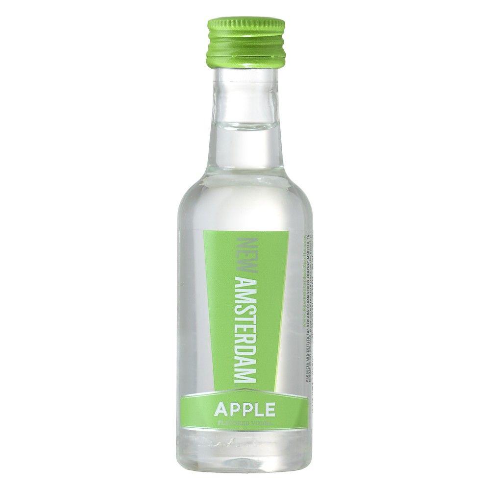 New Amsterdam Apple Flavored Vodka 50ml Plastic Bottle In 2020
