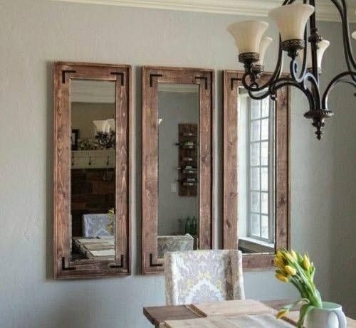 This Listing Comes With 3 Country Rustic Mirrors Measuring 55