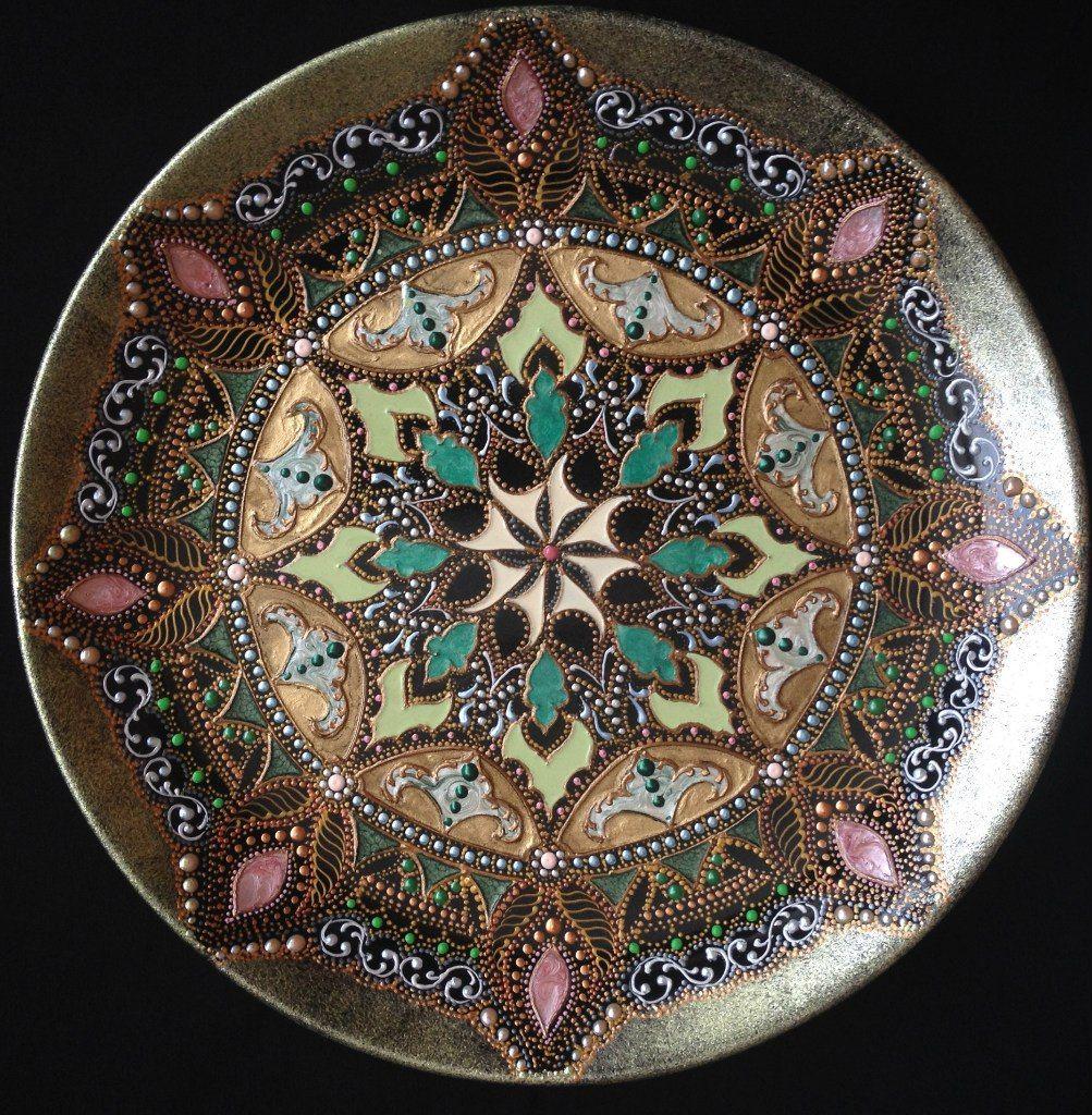 Картинки для точечной росписи тарелок 196