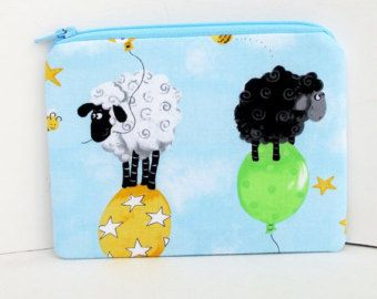 Sheepy notions bag