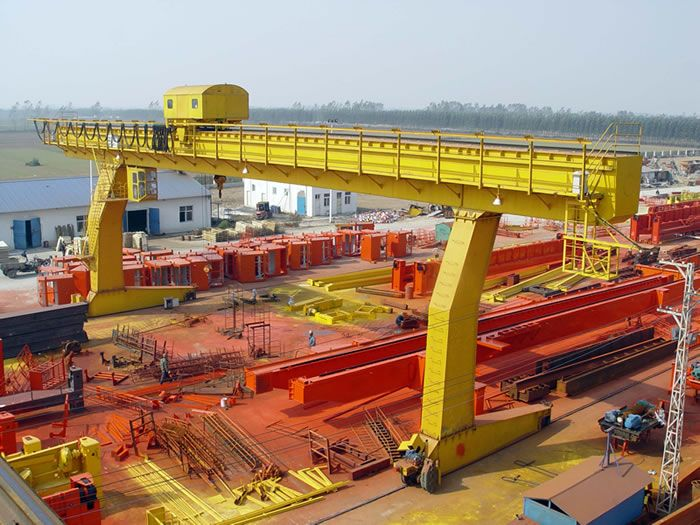 """Design and manufacture according to GB/T 14406 """"General gantry ..."""