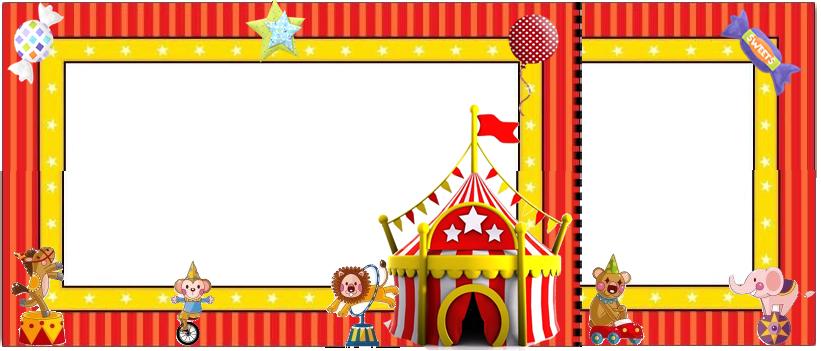 Circus: Free Printable Mini Kit. | Printable ephemera ...