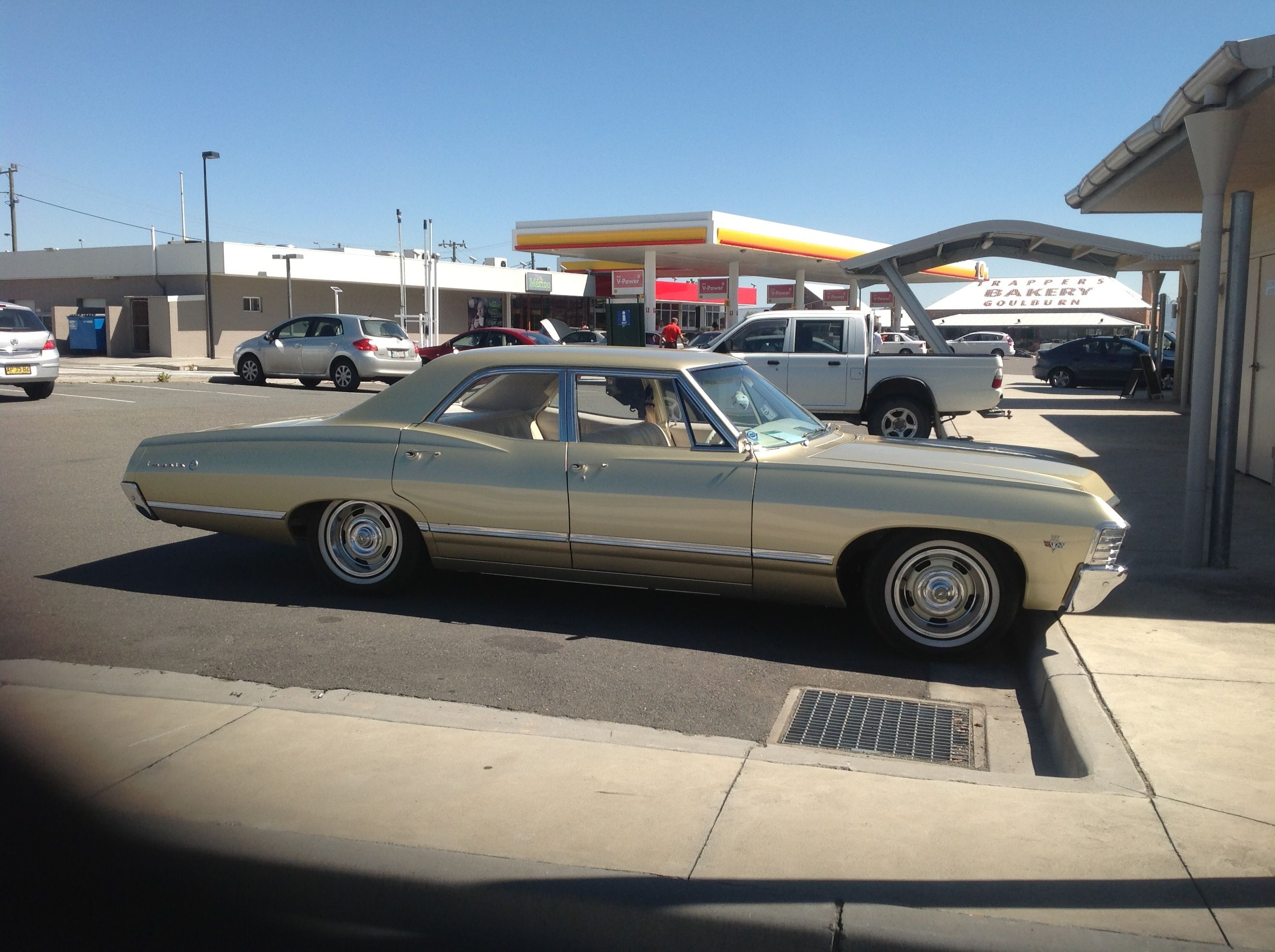 They have cool old cars in Australia! #chevyimpala | Cars ...