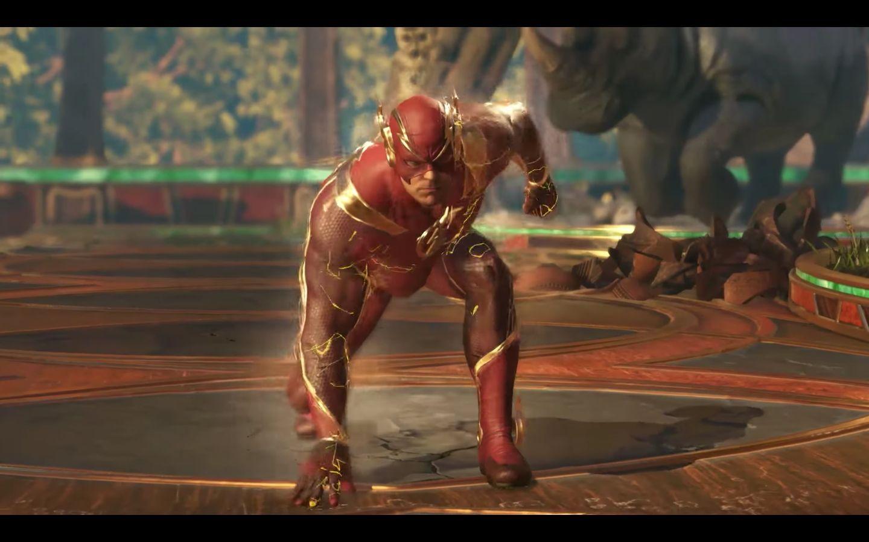 The Flash Spiel