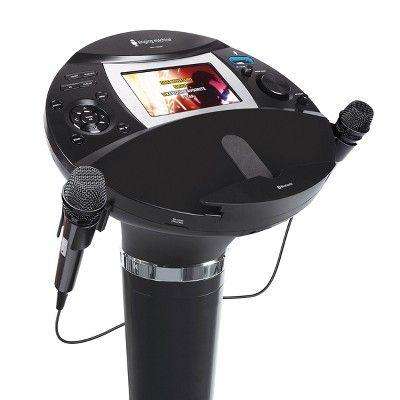 Singing Machine ISM1060BT Hi-Def Pedestal Karaoke System, Black #karaokesystem