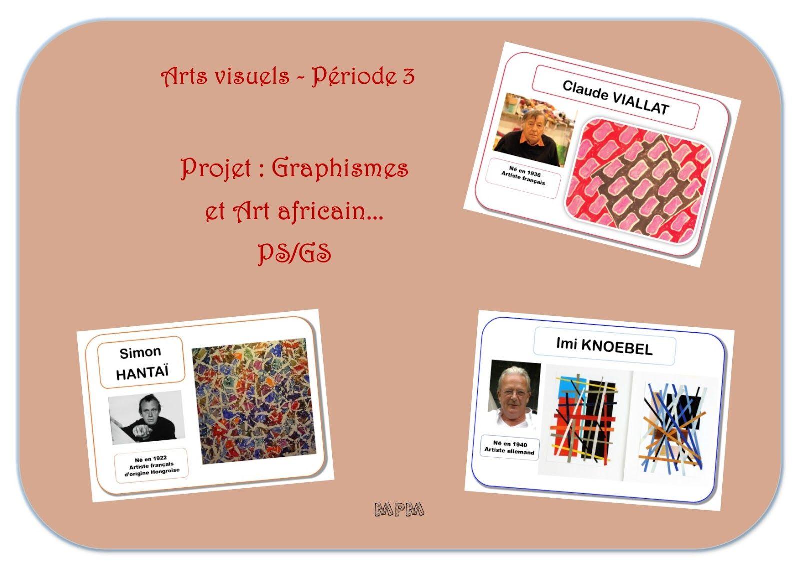 Bien connu Projet arts visuels : Graphismes et Art africain en PS/GS période  OA52
