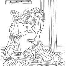Tangled Coloring Pages 10 Free Disney Printables For Kids To Color Online Sprookje