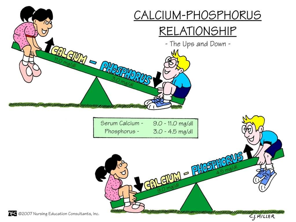 calcium and albumin relationship in esrd