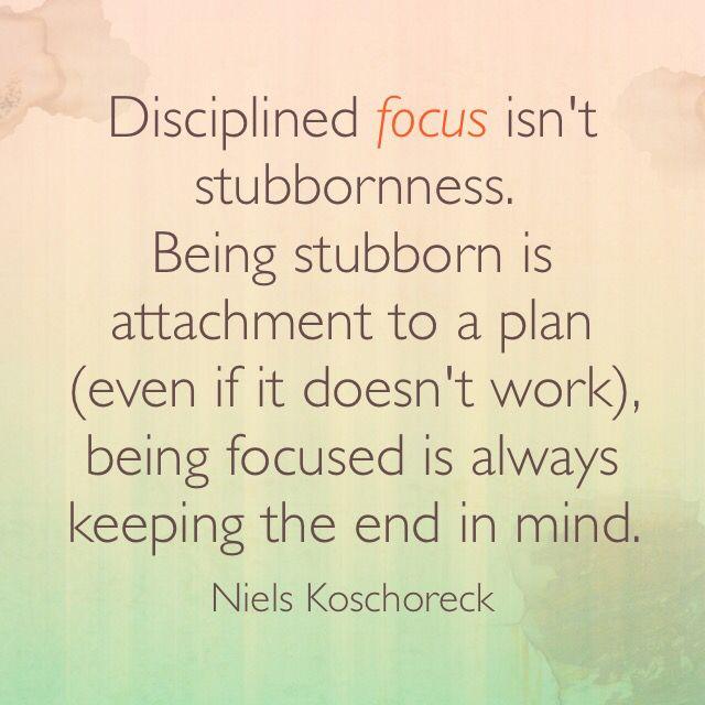 #NielsIsm * #focus
