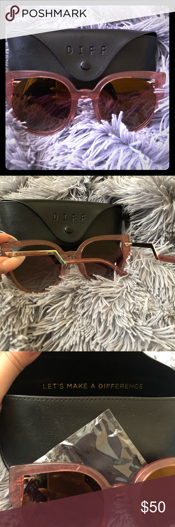20d19dcde9412 Diff eyewear sunglasses ✨✨ Brand new