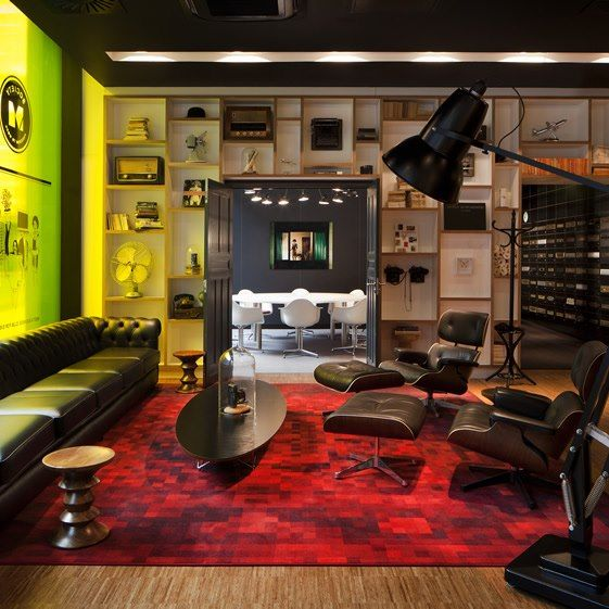 Pin by Adina Buzea Birou Individual de Arhitectura on house moods - design hotel citizenm london