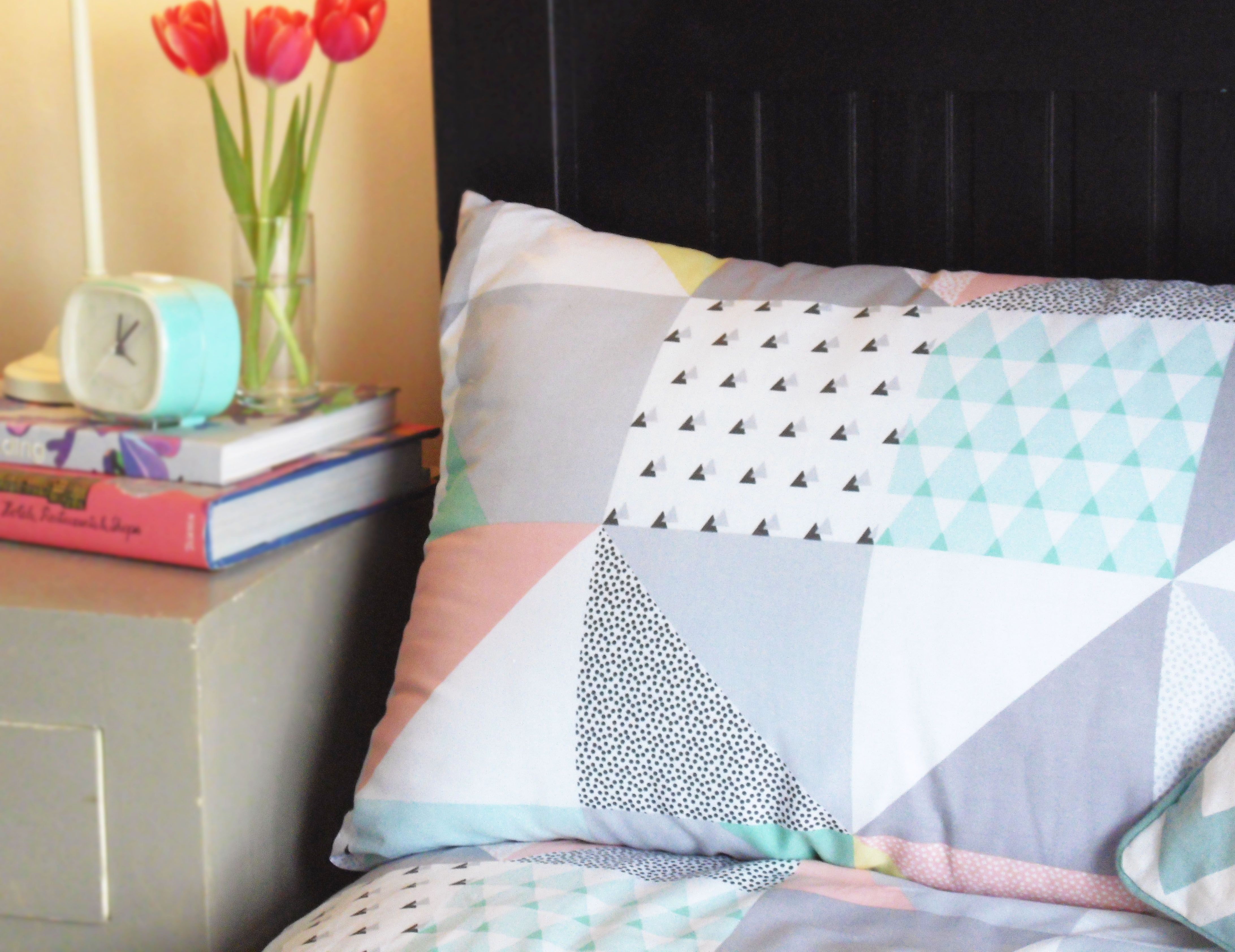 Primark Ss15 Homewares 80s Style Geometric Printed Bedware