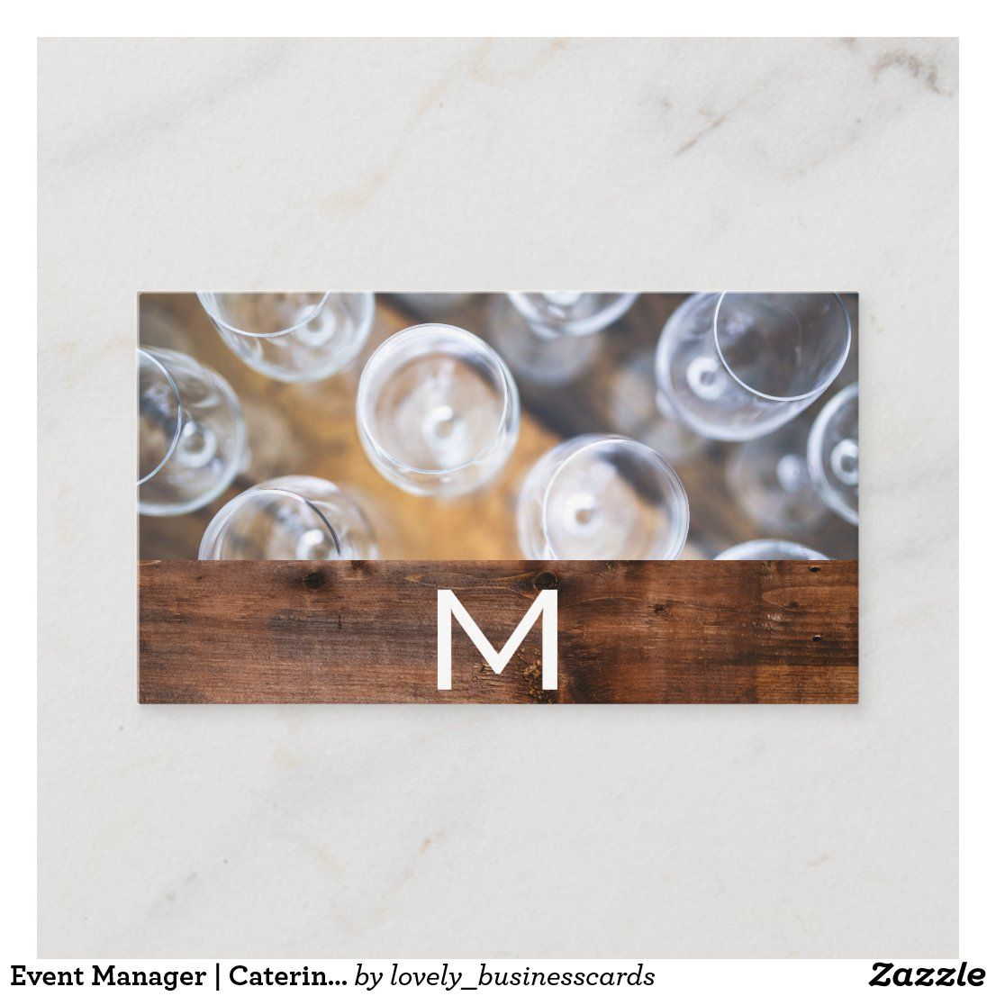 Event Manager | Catering Services Business Card | Zazzle.com