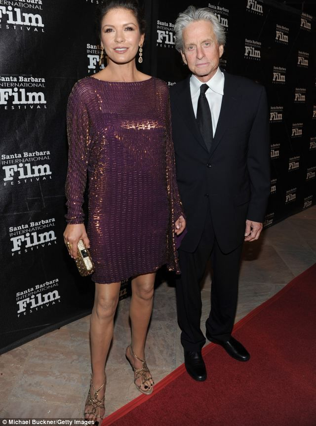 Catherine Zeta-Jones (L) and Michael Douglas: Perhaps Michael, after a few hiccups, will f...