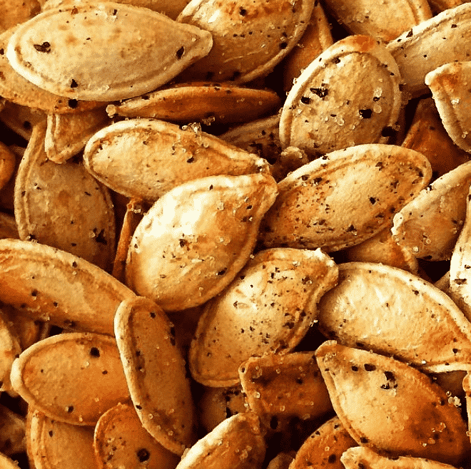 Best Roasted Pumpkin Seeds - The Healthy Voyager