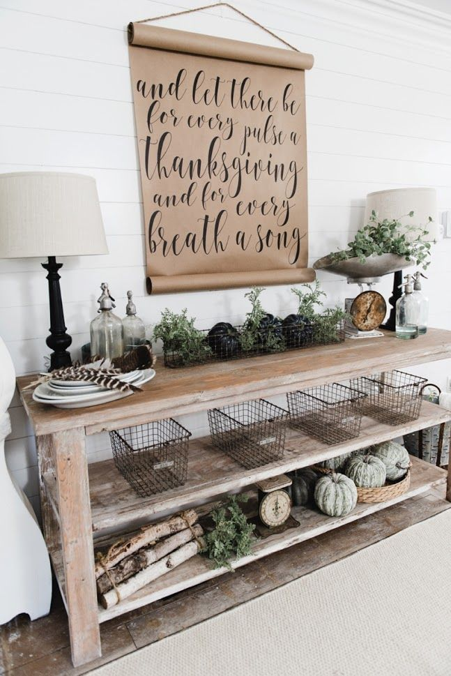 Diy Farmhouse Dining Room Buffet Could Be A Great Tv Console Sofa Table Entryway Table Kitchen Dining Room Buffet Farmhouse Dining Farm House Living Room