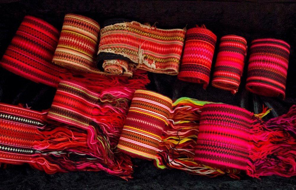 fd801978 Brikkevevd belter til beltestakk | tablet woven belts for Norwegian bunad  from Telemark