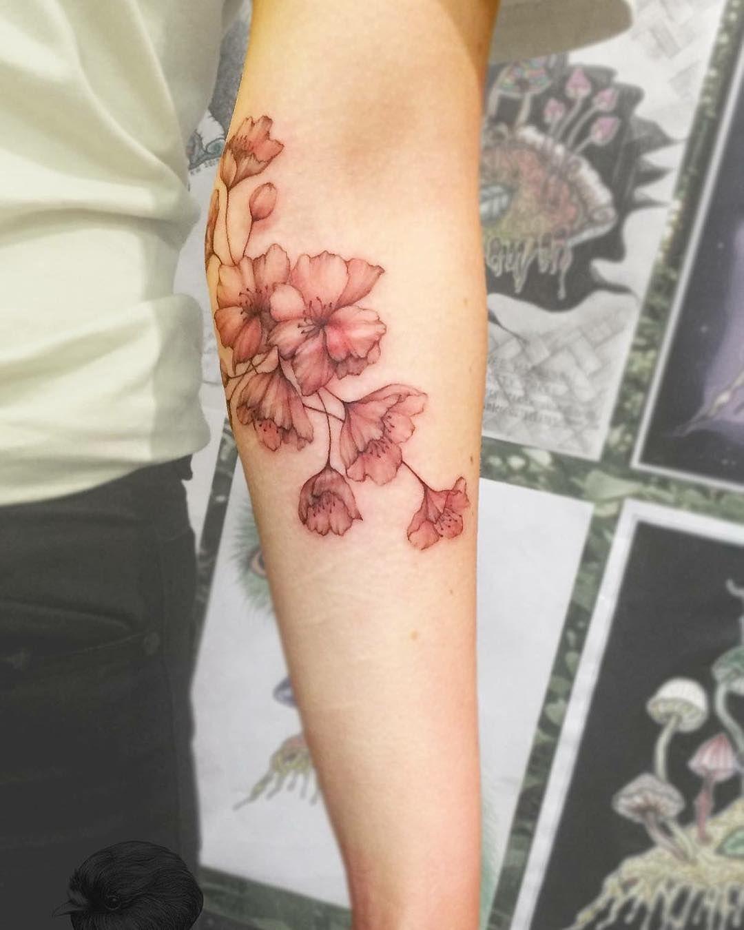 by Ninja Flower Tattoo