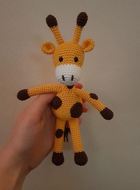 Ravelry Gina The Giraffe Free Crochet Pattern By Janine Amigurumi