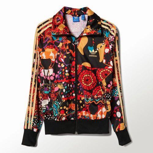 adidas floral firebird jacket