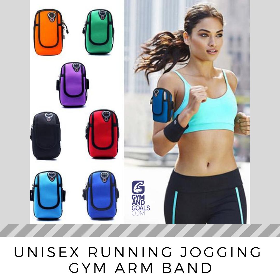 Sports Running Jogging Gym Cycling Arm Band Case Holder Bag Armband Phone Holder