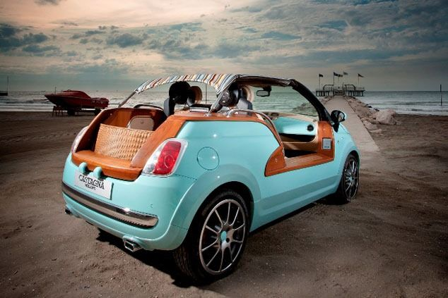 An American Paid 104 000 For Chopped Fiat 500 Tender2 By Castagna