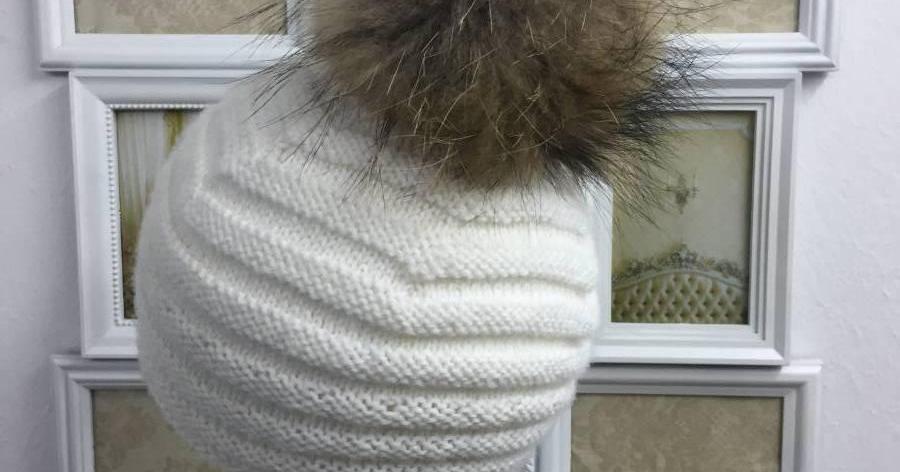 Patrón para tejer un gorro de lana a dos agujas | TEJIDO | Pinterest ...