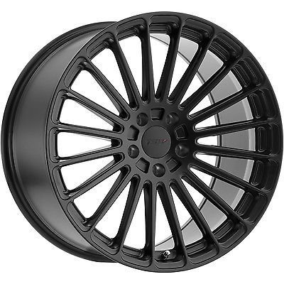 20x11 Black Wheel Tsw Turbina 5x4 5 50