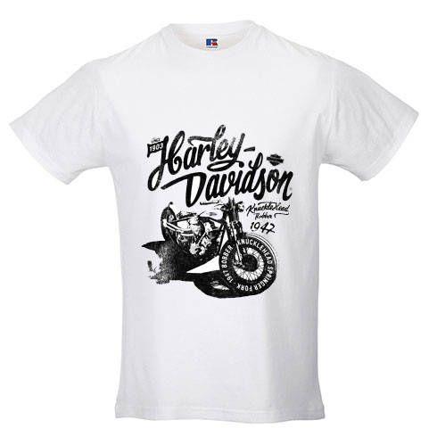 Man T Shirt Harley Davidson White Colour Short Sleeve By Coolfashionmelanie On Etsy Mens Tshirts Mens Tops T Shirt