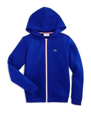 965e3714 Lacoste Boys' Zip Hoodie - Sizes 4-16 | Bloomingdale's ...
