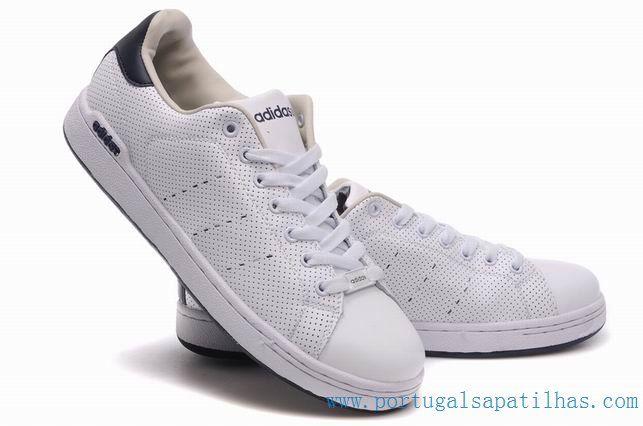 O peso leve Barato Adidas Stan Smith New Shoes Branco / Preto adidas micoach ADIDAS0195