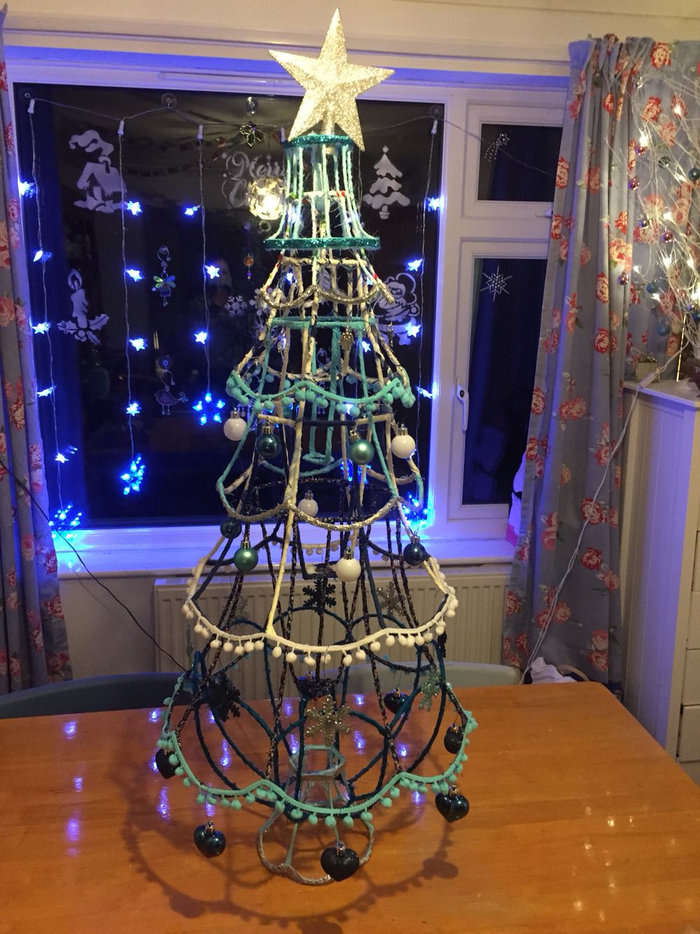Lampshade Christmas Tree Christmas Crafts Decorations Alternative Christmas Tree Lamp Shade Crafts