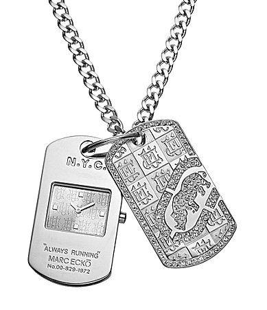 Ecko Unlimited Dog Tag Chain Watch #Dillards