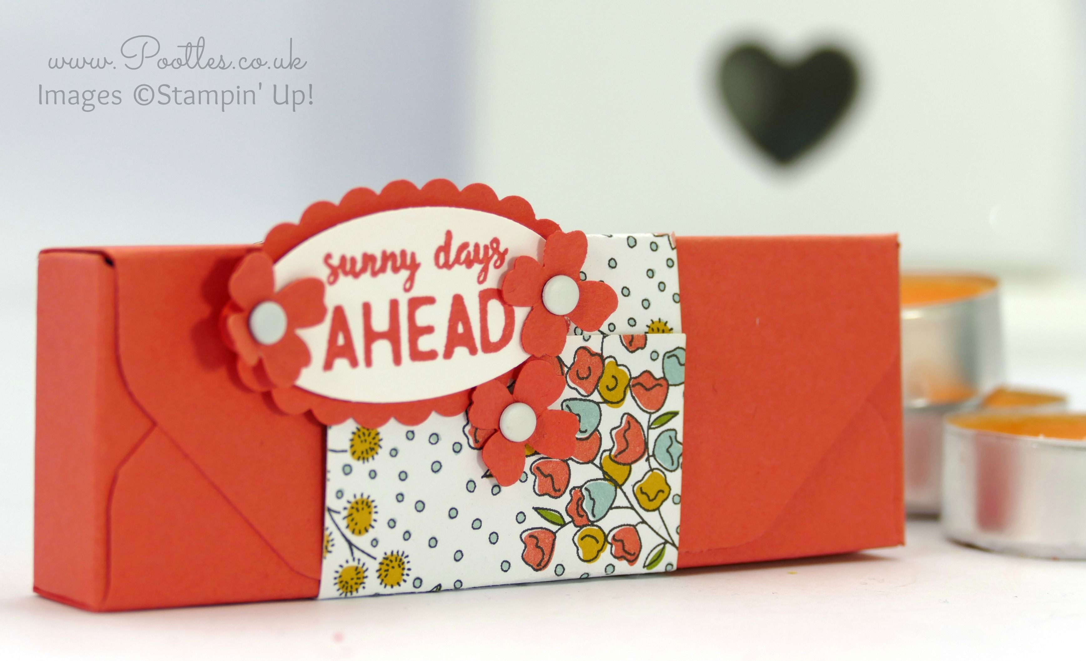 Stampin' Up! Demonstrator Pootles -Envelope Punch Board Ikea Tealight Box Tutorial Ooooo it's a cutey box today! I haven't used the Envelope Punch Board since before Christmas, but one of my new t...