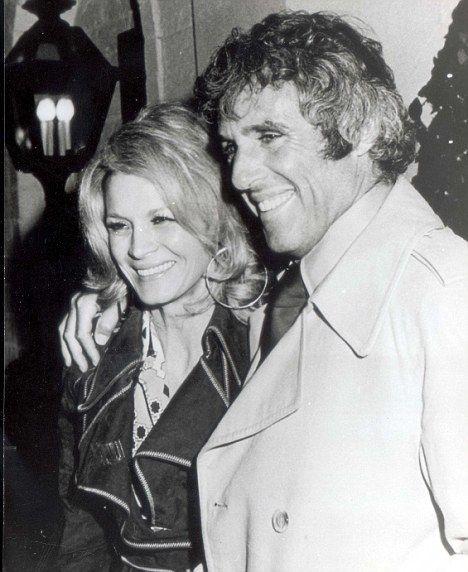 Angie Dickinson & husband Burt Bacharach