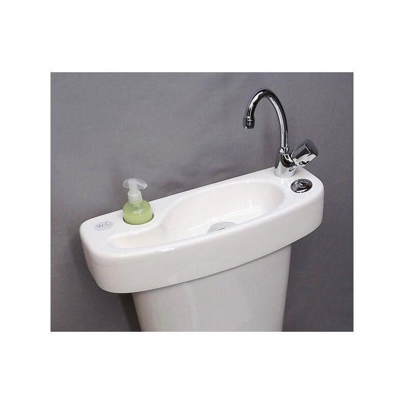 Kit lave-mains WC & chasse d\'eau adaptable au réservoir WiCi Concept ...