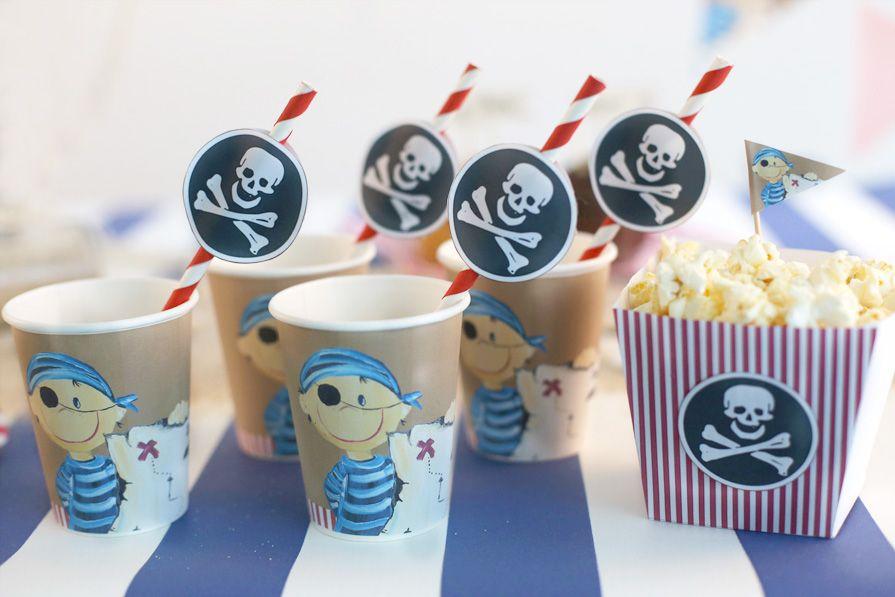 tolle deko-ideen und downloads für einen gelungenen #piraten, Terrassen ideen