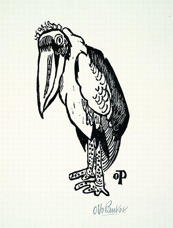 Otto Pankok, woodcut