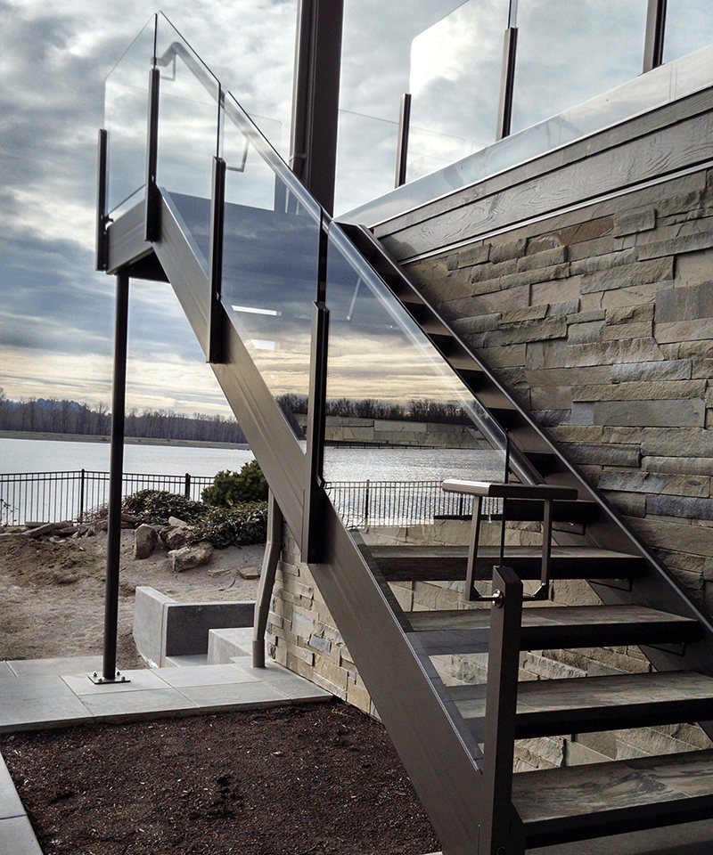Glass Staircase Balustrade Kit: Glass Rail Glass Rail Is One Of The Most Popular Choices