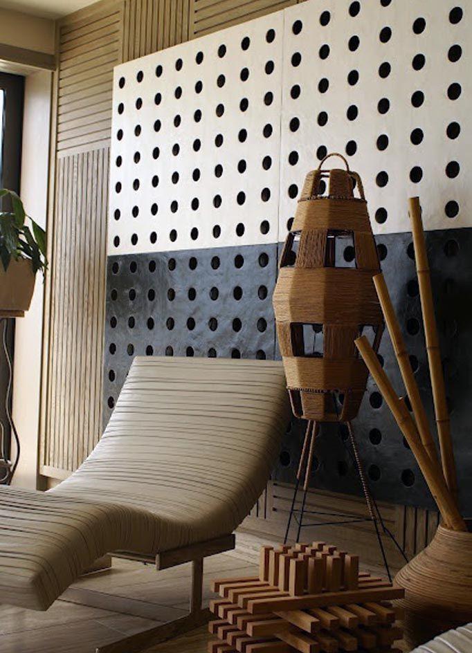 A Calming Mix Of Organic Shapes And Textures Xk Kellywearstler Interior Design Interior Kelly Wearstler Interiors
