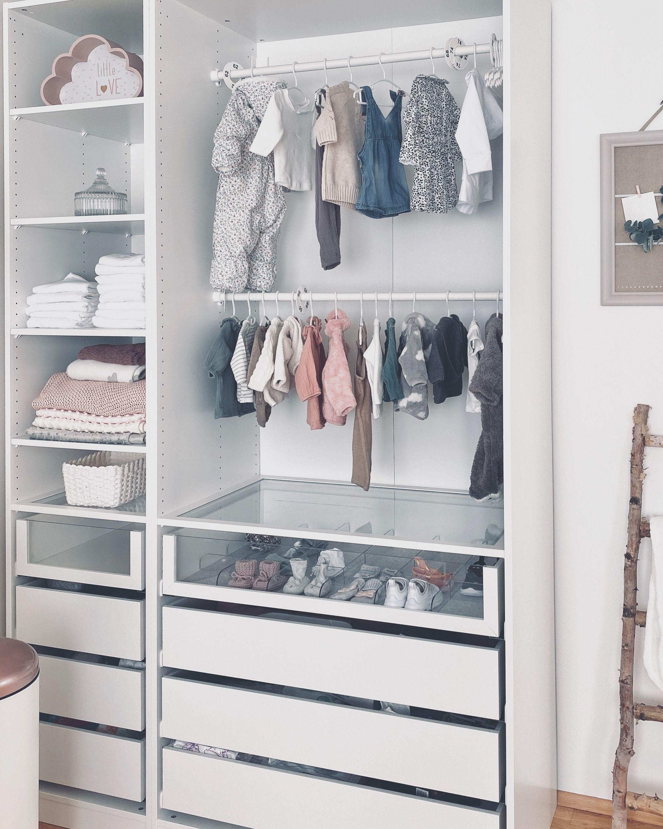 Ikea Pax Baby Kleiderschrank Wardrobe In 2020 Ikea Baby Baby