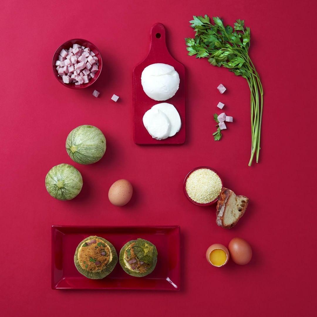 Per una tavola a regola d'arte bastano pochi, semplici ingredienti. Voi, come riempite le zucchine?