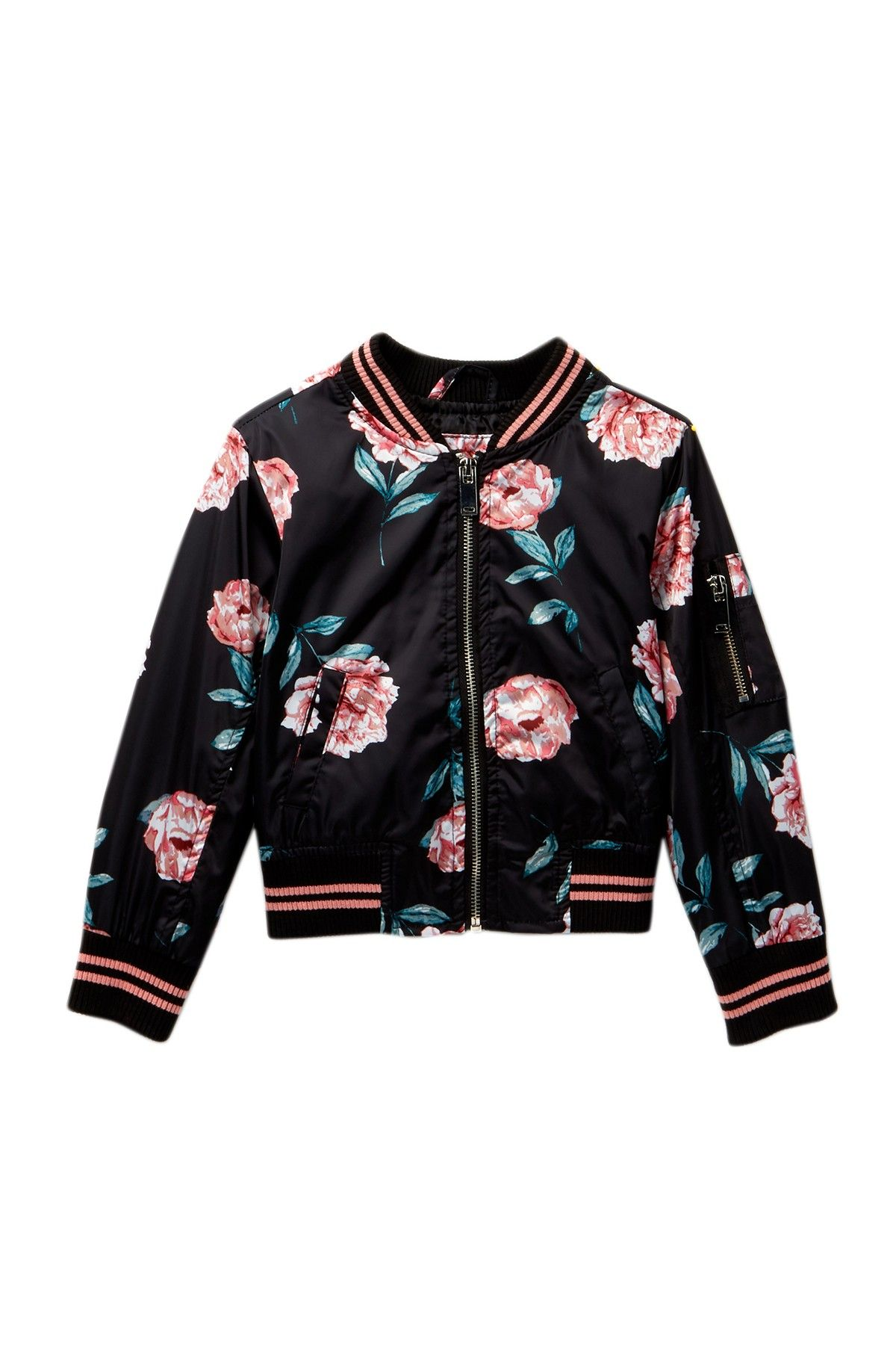 c43a70730fe8 Urban Republic - Sateen Bomber Jacket (Toddler   Little Girls) is ...