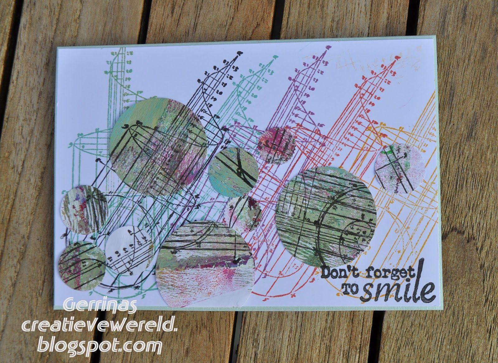 Gerrina's Creatieve Wereld: Regenboogkleuren / Rainbowcolours