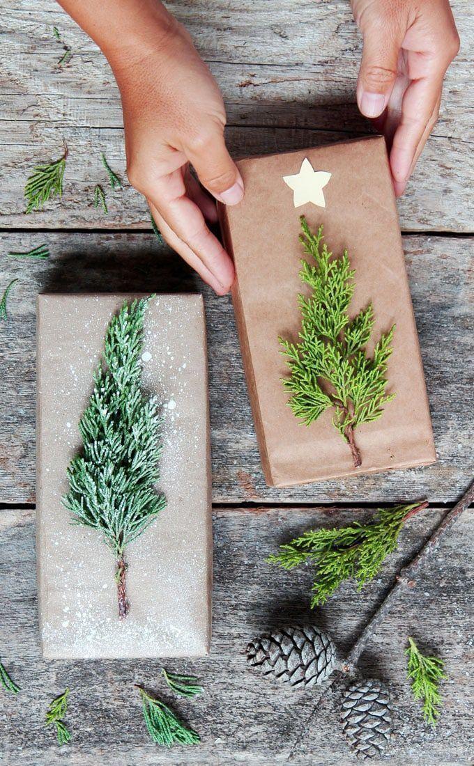 Geschenke schön verpacken mit Kraftpapier | MrsBerry Familien-Reiseblog | Über das Leben und ...