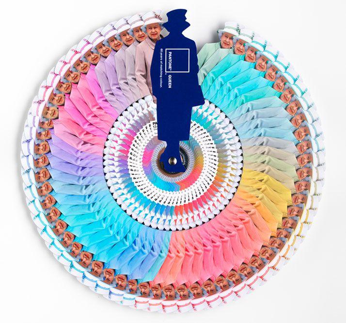 Pantone Queen // 60 Years Of Matching Colour | Leo Burnett