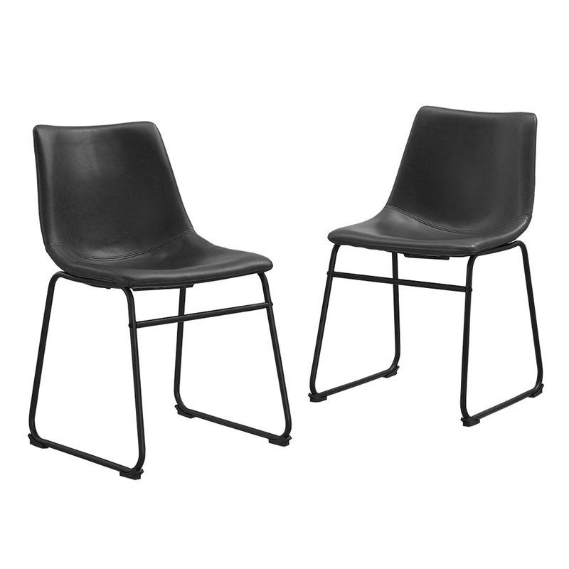 Gehlert Side Chair Reviews Allmodern Faux Leather Dining Chairs Leather Dining Chairs Dining Chairs