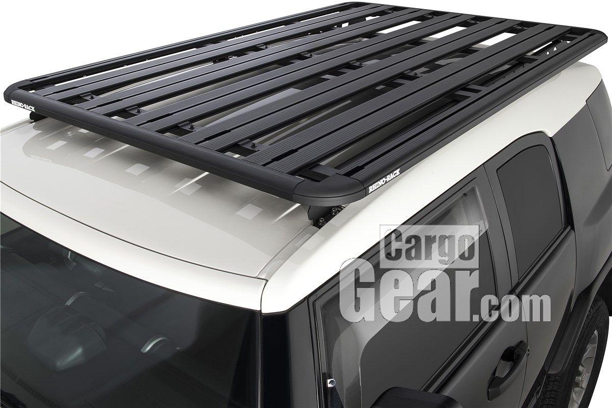 Fj Cruiser Backbone With 84 X 56 Platform Elevation Roof Rack Car Roof Racks Truck Roof Rack
