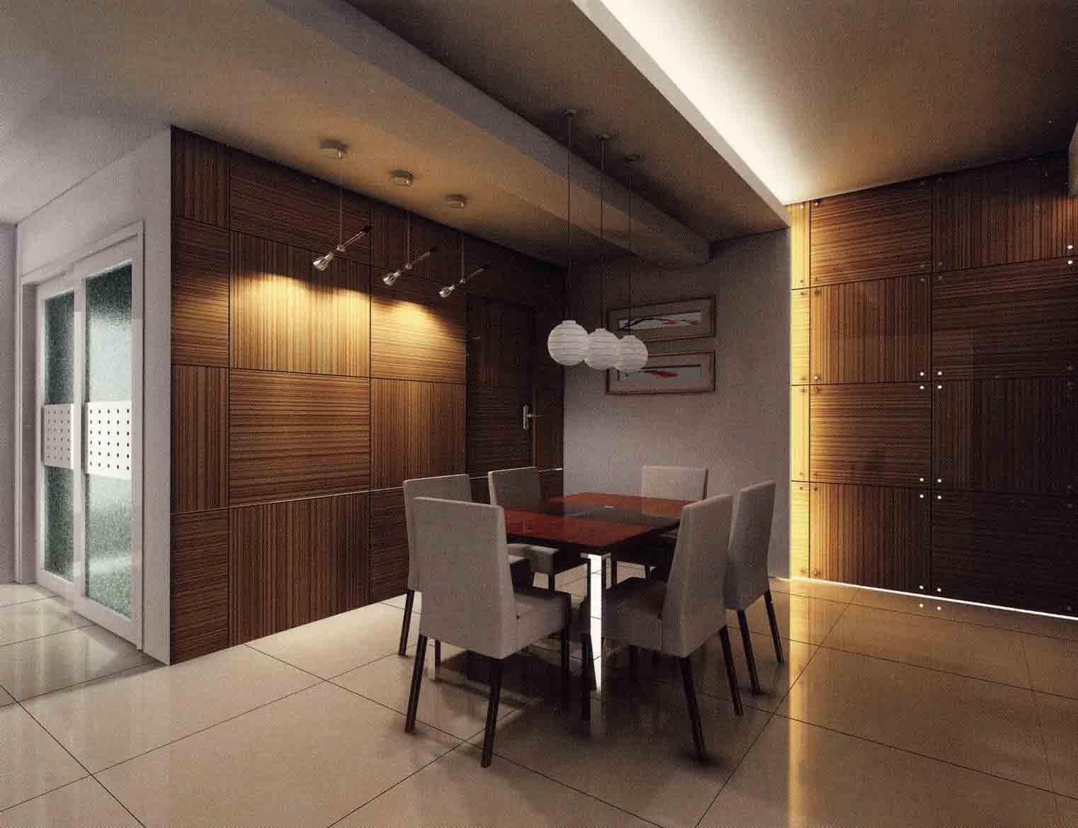 Modern ceiling designs for dining room - Modern Dining Hall Interior Design In Malaysia Google Search